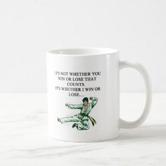 i love martiel arts coffee mug