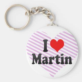 I love Martin Keychain