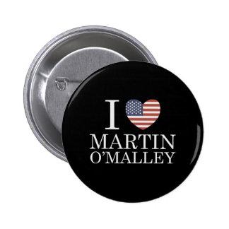 I Love Martin O'Malley Button