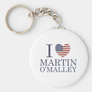 I Love Martin O'Malley Keychain