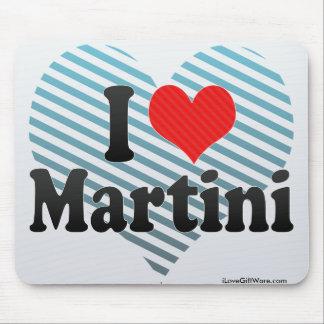 I Love Martini Mousepad