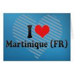 I Love Martinique (FR) Cards