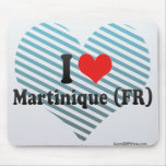 I Love Martinique (FR) Mouse Pad
