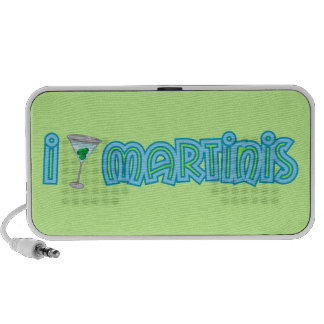 I love Martinis Mini Speakers
