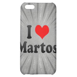 I Love Martos, Spain. Me Encanta Martos, Spain iPhone 5C Cover