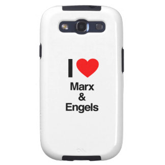 i love marx and engels samsung galaxy SIII cases