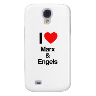 i love marx and engels samsung galaxy s4 covers
