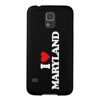 I LOVE MARYLAND CASE FOR GALAXY S5