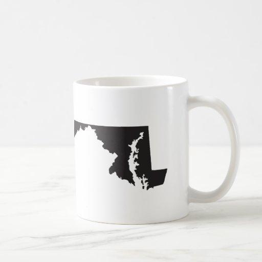 I Love Maryland Coffee Mugs