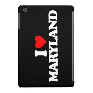I LOVE MARYLAND iPad MINI COVER