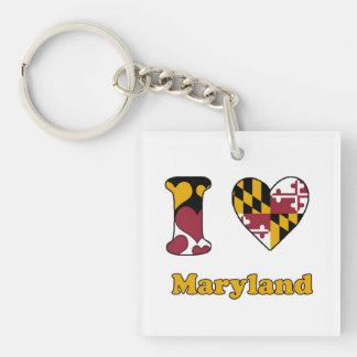 I love Maryland Keychain