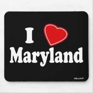 I Love Maryland Mouse Pad