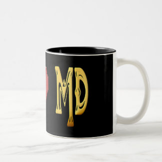 I LOVE MARYLAND Mug