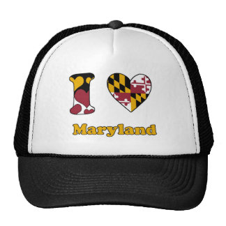 I love Maryland Trucker Hat