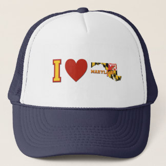 I Love Maryland Trucker Hat