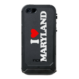I LOVE MARYLAND WATERPROOF CASE FOR iPhone SE/5/5s