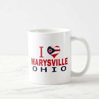 I love Marysville, Ohio Mugs