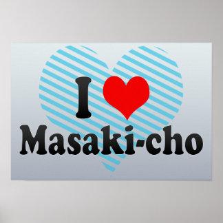 I Love Masaki-cho, Japan Poster