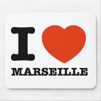 I love Maseille Mouse Pad