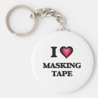 I Love Masking Tape Keychain