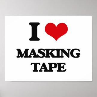 I Love Masking Tape Print