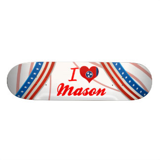 I Love Mason Tennessee Skate Deck