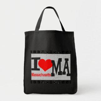I love Massachusetts - Bags