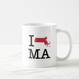I Love Massachusetts Coffee Mug
