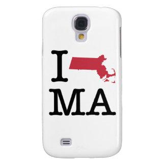 I Love Massachusetts Galaxy S4 Case
