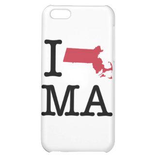 I Love Massachusetts iPhone 5C Covers