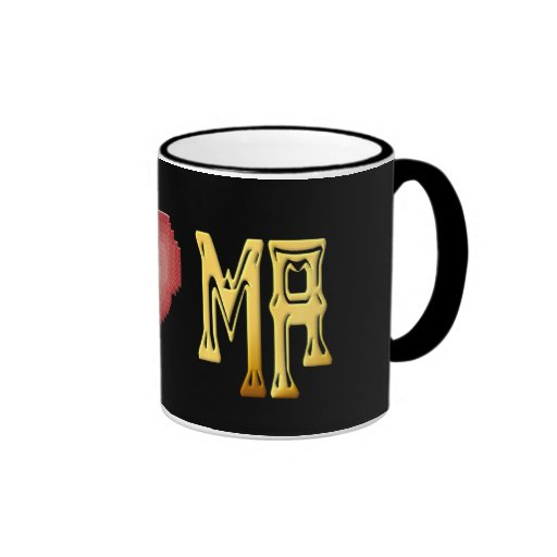 I LOVE MASSACHUSETTS Mug