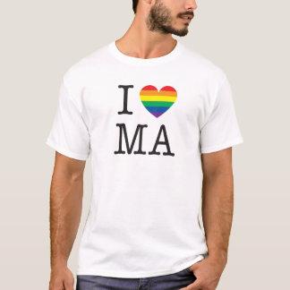 I Love Massachusetts Shirt