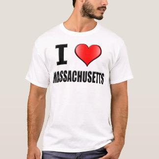 I Love Massachusetts T-Shirt - Men