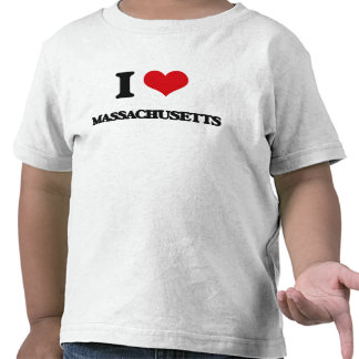 I Love Massachusetts Tee Shirt
