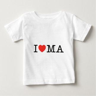 I LOVE MASSACHUSHETTS BABY T-Shirt