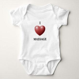I LOVE MASSAGE BABY BODYSUIT