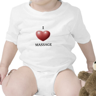 I LOVE MASSAGE ROMPERS