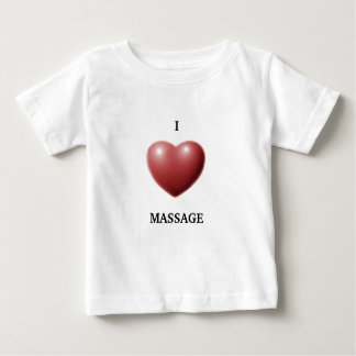 I LOVE MASSAGE TEE SHIRT