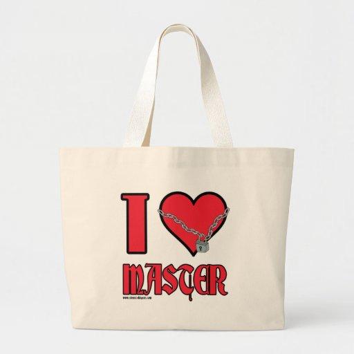 I Love Master Canvas Bag