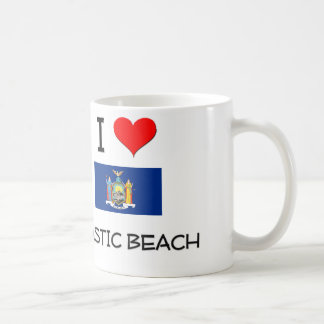I Love Mastic Beach New York Coffee Mugs