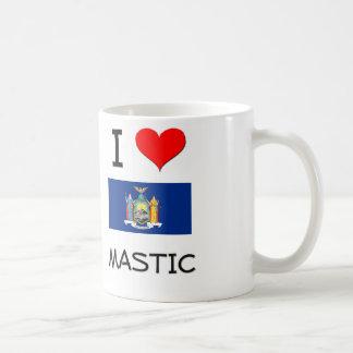 I Love Mastic New York Mug