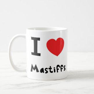 I love Mastiffs Coffee Mug