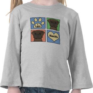 I Love Mastiffs T Shirt