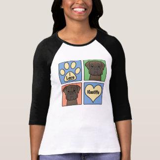 I Love Mastiffs Shirt