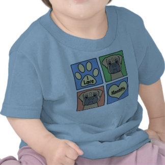 I Love Mastiffs Shirts