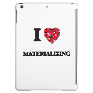 I Love Materializing Cover For iPad Air