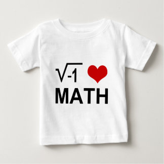 I love MATH! Baby T-Shirt