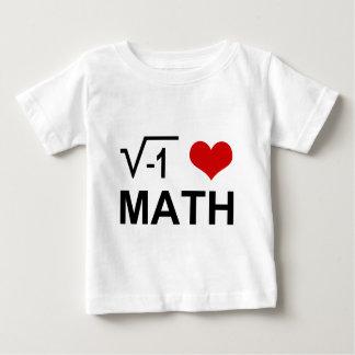 I love MATH! Baby T-Shirt