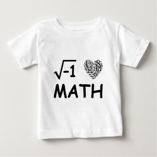 I love math baby T-Shirt