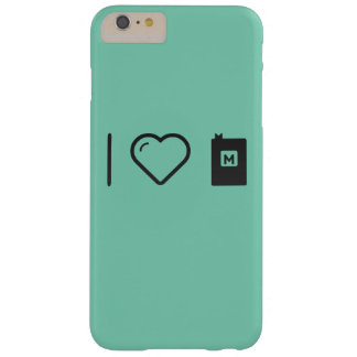I Love Math Books Barely There iPhone 6 Plus Case